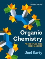 Organic chemistry principles and mechanisms 2e by joel karty 1