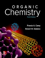 Organic chemistry 10e by francis a carey 1