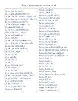 Danh bạ websites các trường Đại học