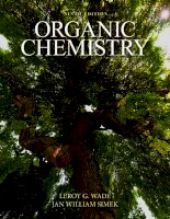Organic chemistry 9e by leroy g  wade 1