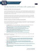 Tai lieu reading  listening 2020 by vu hai ryan