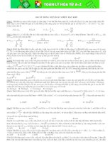 100 Câu trắc nghiệm dòng điện xoay chiều hay và khó