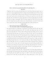 bài tập học kỳ môn luật thương mại 2