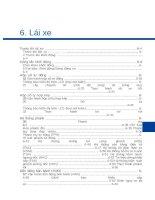 Hướng dẫn lái xe Hyundai Santafe facelift 2021