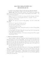 BÀI THU HOẠCH DIỄN án hồ sơ DS lđ 01
