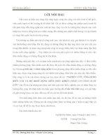 NGHIÊN cứu, ỨNG DỤNG BIẾN tần và bộ KHỞI ĐỘNG mềm điều KHIỂN ĐỘNG cơ CÔNG SUẤT lớn