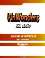 BẢN VẼ SHOP DRAWING VINWONDERS NHA TRANG