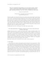 Đề xuất mô hình ảnh hưởng của các nhân tố đo lường chất lượng hoạt động kiểm toán nội bộ đến hành vi điều chỉnh lợi nhuận tại các Công ty niêm yết Việt Nam