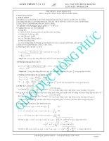GIAO TRINH VAT LY LUYEN THI DAI HOC NAM 2013