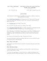 Quyết định 172021QĐTTg  (Mức hỗ trợ học nghề với NLĐ tham gia bảo hiểm thất nghiệp)